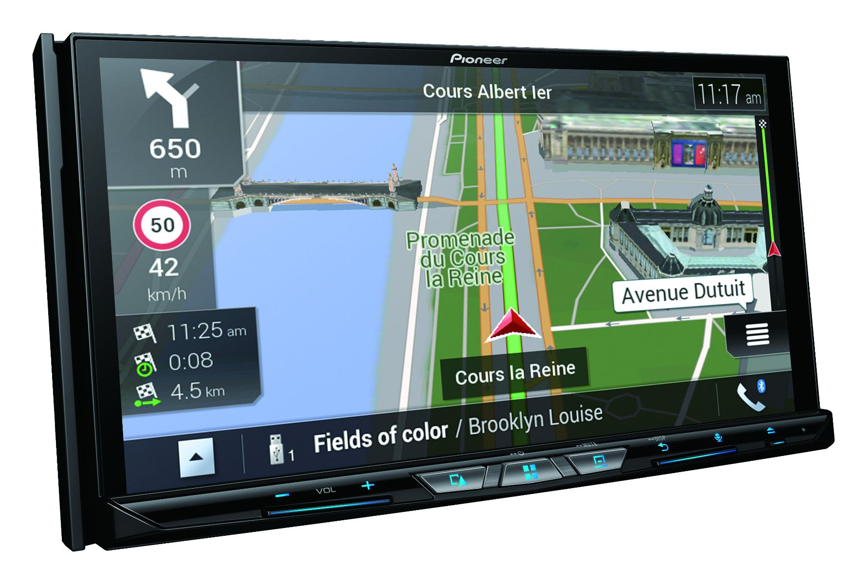Android car radio GPS